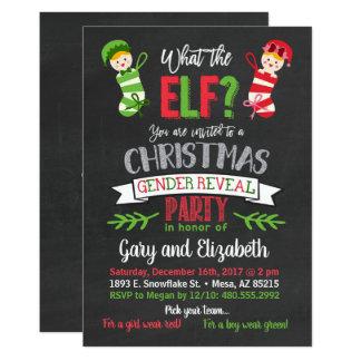 O que o género do Natal do duende revela o convite