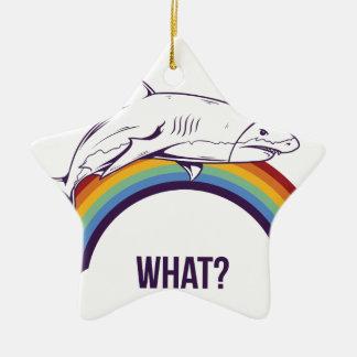 o que, peixes refrigeram o design gráfico ornamento de cerâmica