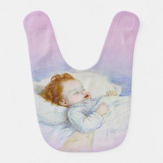 O que são meninas feitas do babador do bebê