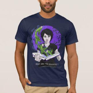 O que são você t-shirt da leitura camiseta