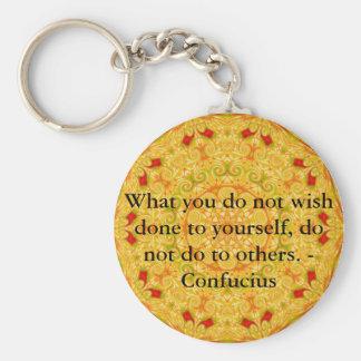 O que você não deseja feito a o senhor mesmo, não  chaveiros