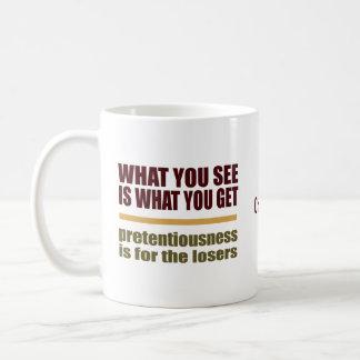 O que você See é o que você obtem a canecas