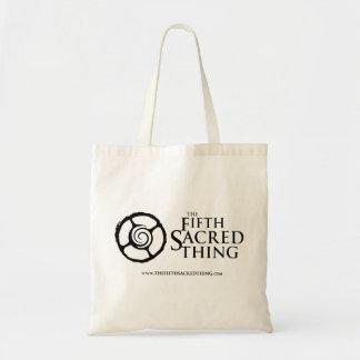 O quinto bolsa espiral sagrado do logotipo