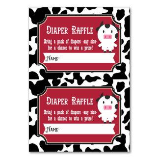 O Raffle da fralda Tickets - 2 por o cartão -