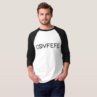 O Raglan dos homens de Covfefe Camiseta