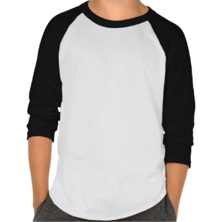 O Raglan dos meninos apenas seja amável! Camisa Camisetas