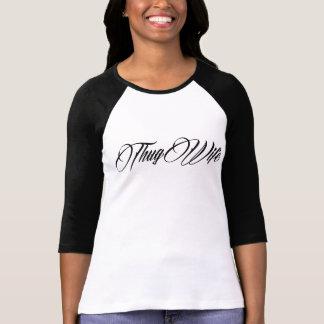 O Ragland das mulheres da ESPOSA do VÂNDALO Camisetas