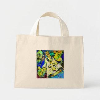 O rapper bolsas de lona