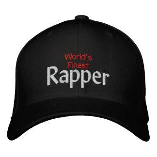 O rapper o mais fino dos mundos boné bordado