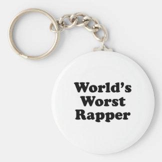 O rapper o mais mau do mundo chaveiro
