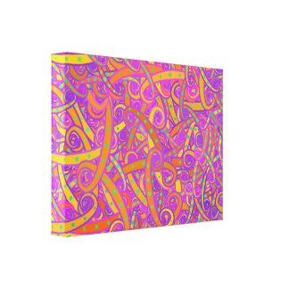 O redemoinho ondula canvas impressão de canvas esticadas