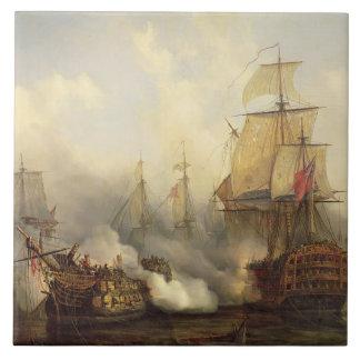 O Redoutable em Trafalgar, o 21 de outubro de 1805