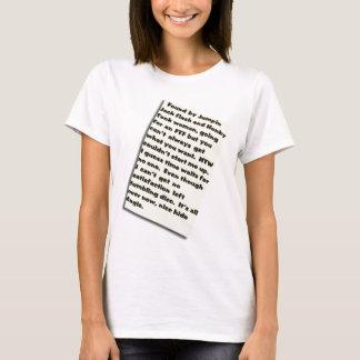 O registro de Mick Camiseta