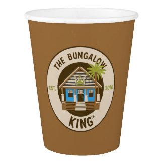 O rei do bungalow - copos de papel