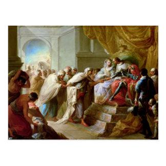 O rei e a rainha católicos cartão postal
