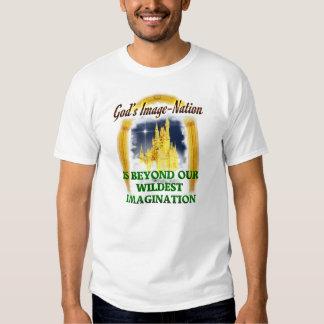 O reino do deus t-shirts