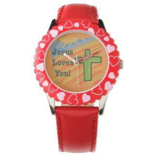 O relógio cura das mulheres do coração de Jesus da