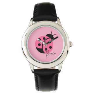 """""""O relógio da menina personalizada pequena do"""