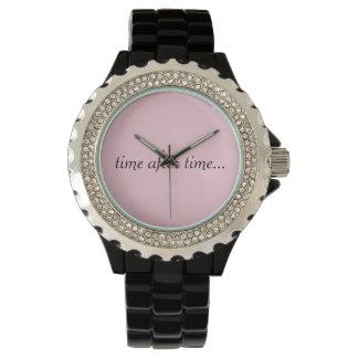 O relógio da mulher