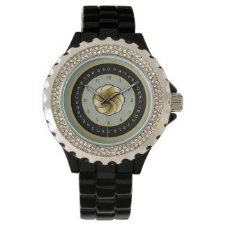 O relógio das mulheres do alfabeto arménio e da
