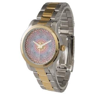 O relógio das mulheres do vintage do caleidoscópio