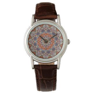 O relógio das mulheres rochosas     do vintage do