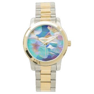 O relógio de senhora da flor