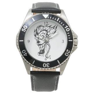 O relógio dos homens maus do palhaço