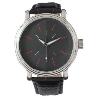 O relógio elegante de homens modernos