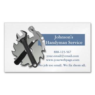 O reparador do trabalhador manual viu a chave do cartão de visitas magnético