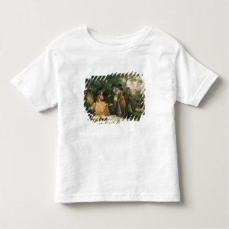 O Repast do pescador (óleo em canvas) Camisetas