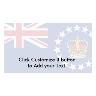 O representante das rainhas, Nova Zelândia Modelo Cartão De Visita