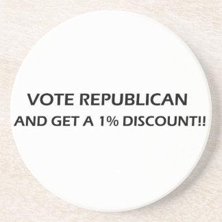 O republicano do voto obtem portas copos de um dis porta-copos