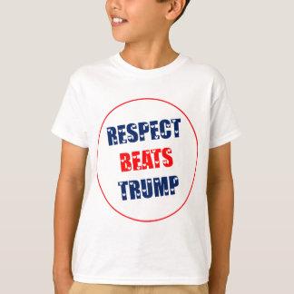 O respeito bate o trunfo camiseta