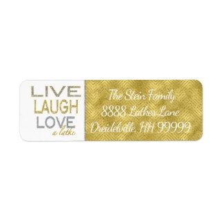 """O retorno de Hanukkah etiqueta o ouro/prata """"amor"""