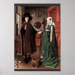 O retrato de Arnolfini o casamento de Arnolfini po Posteres