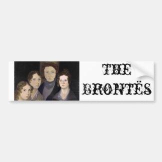 O retrato restaurado ~ da coluna de Brontës Adesivos