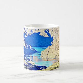O Rio Colorado no copo de café dos Caneca De Café