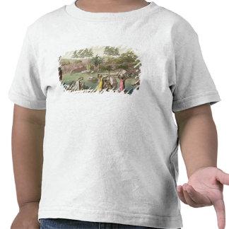 O rio perto de San Benedetto, Madagascar, chapeia Camiseta