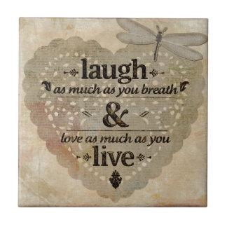 O riso tanto AsYou respira o presente das citações