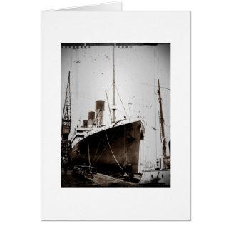 O RMS Olimpiadas (1929) Cartao