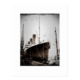 O RMS Olimpiadas (1929) Cartão Postal
