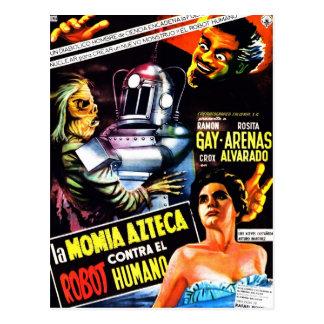 """""""O robô contra. Cartão da mamã asteca"""""""
