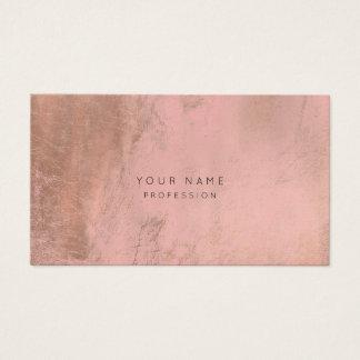 O rosa cor-de-rosa de pintura do ouro cora cartão