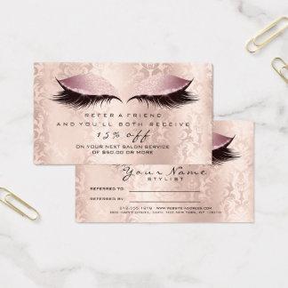 O rosa da composição do damasco do cartão da
