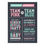 O rosa da equipe ou o género azul do quadro da equ convites