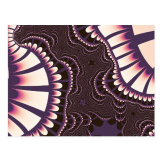 O rosa da lavanda Remix cartão