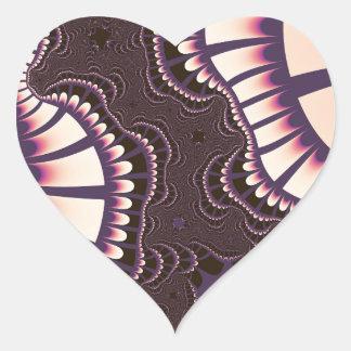 O rosa da lavanda Remix etiquetas do coração