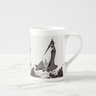 O rosa do santo de Lima ascensão ao céu Xícara De Chá