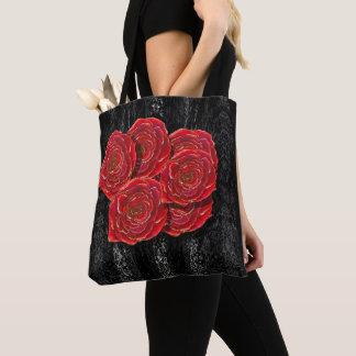 O rosa é o bolsa vermelho